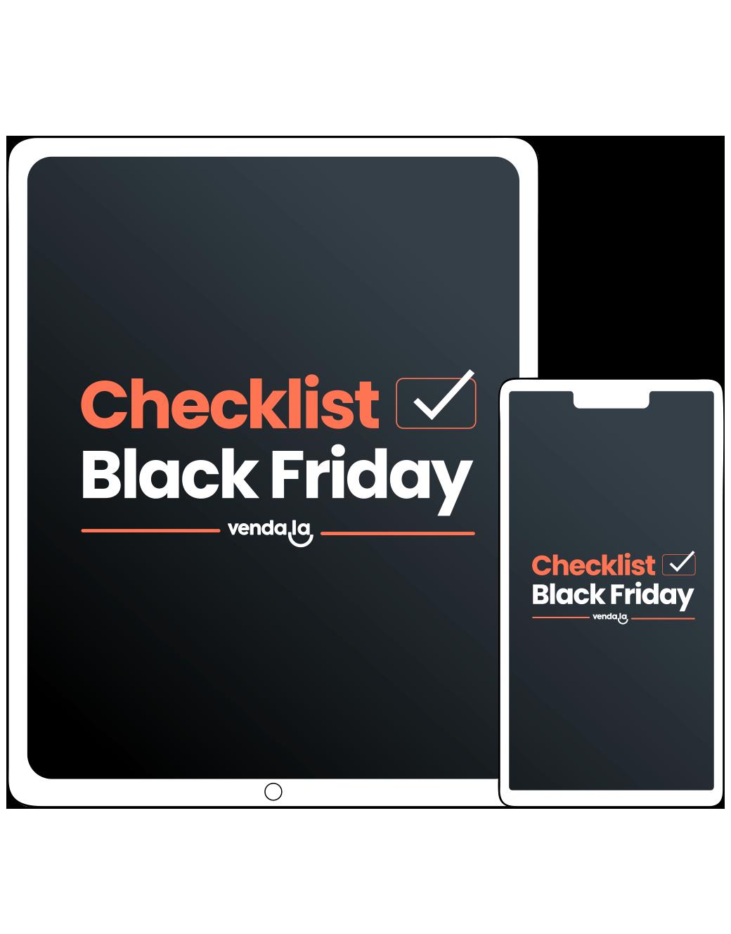Checklist Black Friday
