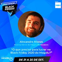 Preparação Black Friday 2020 – Magalu Marketplace